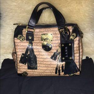 Small L.A.M.B satchel handbag